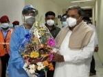 Former Karnataka CM Siddaramaiah tests Covid-19 negative