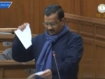 Arvind Kejriwal tears copy of farm laws in Delhi assembly protesting against agricultural reforms