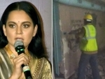 'Bullywood watch now what fascism looks like': Kangana Ranaut after Shiv Sena-led BMC demolishes her office