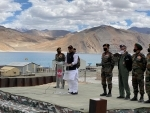 Not an inch of Indian territory could be touched by any power: Rajnath Singh in Ladakh