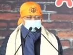 Delhi CM ArvindKejriwal visits Singhu Border, urges Centre to repeal farm laws