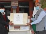 COVID-19: Indian Ambassador hands over 28 ICU ventilators to Nepal government