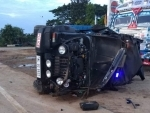 Four police personnel injured after Meghalaya minister's pilot car meets road mishap