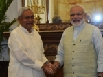 PM Narendra Modi wishes Nitish Kumar for taking oath as Bihar CM for another term