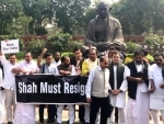 7 Congress MPs suspended for rest of Budget session for unruly behaviour