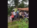 Liquor laden truck overturns in Assam