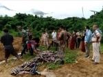 Assam Rifles destroy huge quantity of illegal liquor in Nagaland