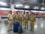 40 kg ganja seized from New Delhi bound train in Assam's Karimganj district
