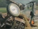 Protest against farm bills: Tractor set on fire in Delhi, 5 arrested