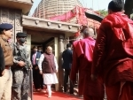 Union Home Minister Amit Shah offers prayer at Kamakhya temple in Guwahati