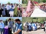 Kashmir: Deputy Commissioner (DC) of Ganderbal inaugurates Branwar bridge