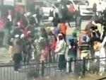 Protest against farm laws: Farmers continue march to Delhi defying barricades, tear gas