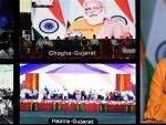 PM Narendra Modi inaugurates Ro-Pax terminal at Hazira