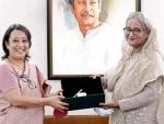Indian High Commissioner Riva Ganguly calls on Bangladesh PM Sheikh Hasina
