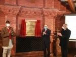 Indian Foreign Secretary Harsh Vardhan Shringla inaugurates renovated Buddhist monastery during Nepal visit