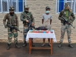 Assam Rifles officials seize brown sugar worth Rs 76 lakh in Manipur's Moreh