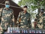 BSF seize 150 bottles phensedyl in Coochbehar