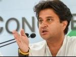 Jyotiraditya Scindia resigns as Congress leader