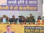 I love you: Arvind Kejriwal tells people of Delhi after Assembly polls victory