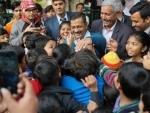 AAP set for a landslide win in Delhi, Arvind Kejriwal eyes CM's post for third term
