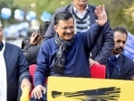 Arvind Kejriwal set to become CM again as AAP sweeps Delhi, BJP emerges distant second