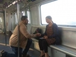 Valentine's Day: Man proposes to his partner during debut run of Kolkata's E-W Metro