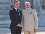 French President Emanuel Macron underscores India's role in ensuring equitable access to Covid-19 diagnostics, treatment and immunization