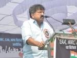 Indira Gandhi strangulated democracy: NCP leader Jitendra Awhad criticises Cong at anti-CAA-NRC rally