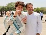 Congress leaders Rahul Gandhi and Priyanka Gandhi Vadra wish eves on International Women's Day