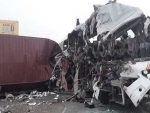 Tamil Nadu: 19 kiled as container lorry rams into KSRTC bus