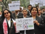 BJP holds peace rally in support of CAA in Assam's Biswanath, locals stage protest