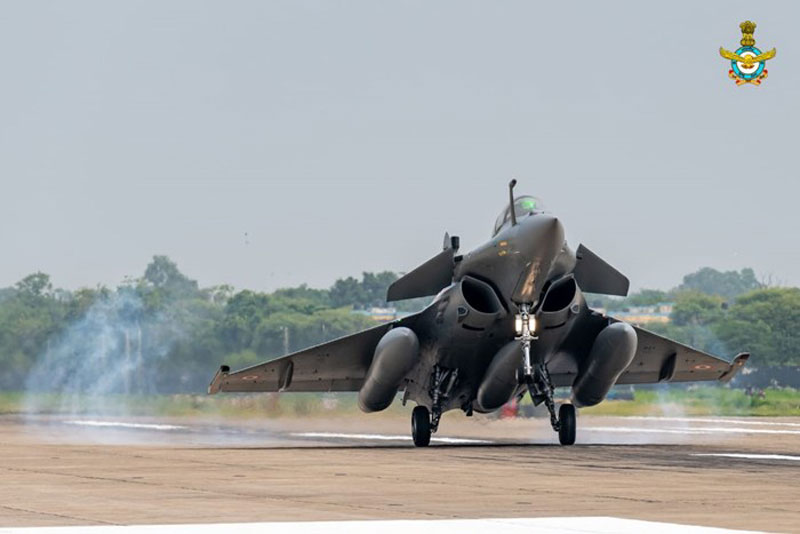In Image: Rafale is equipped with a wide range of lethal weapons system