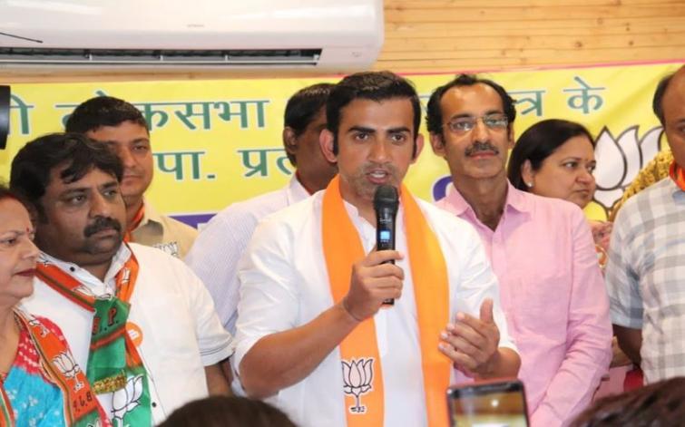 BJP MP Gautam Gambhir rejects Arvind Kejriwal's house arrest claim, AAP replies wittily