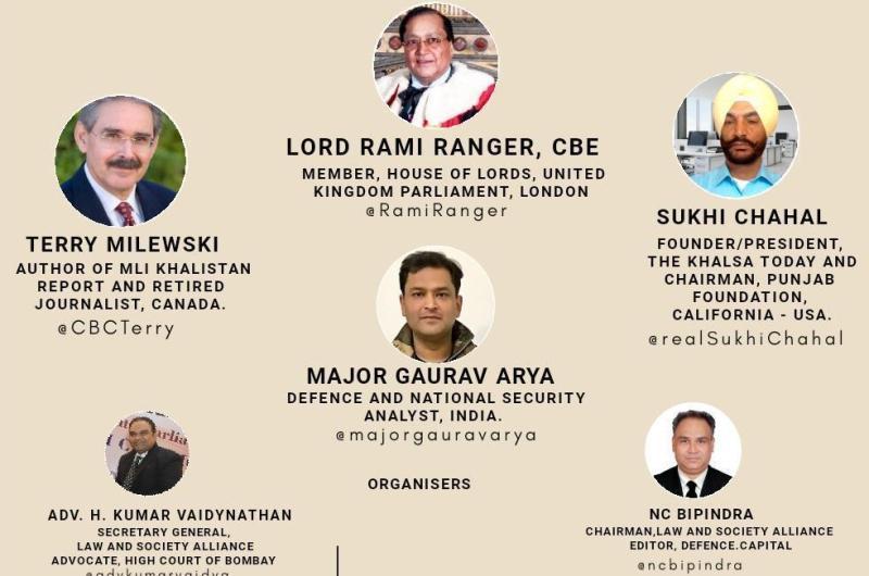 Experts discuss Khalistan and Pakistan link during webinar
