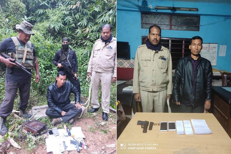 Police arrest self-styled general secretary of PDCK in Assam's Karbi Anglong, arms recovered
