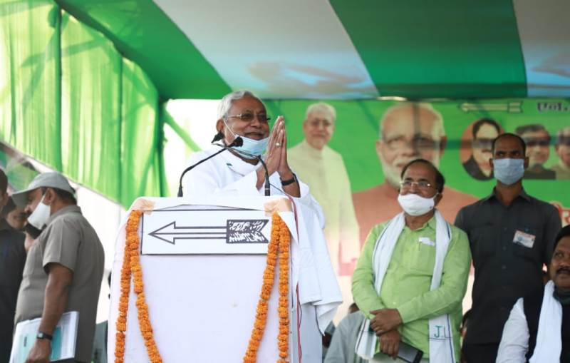 Bow to people's mandate, thankful to PM for support: Nitish Kumar on Bihar win