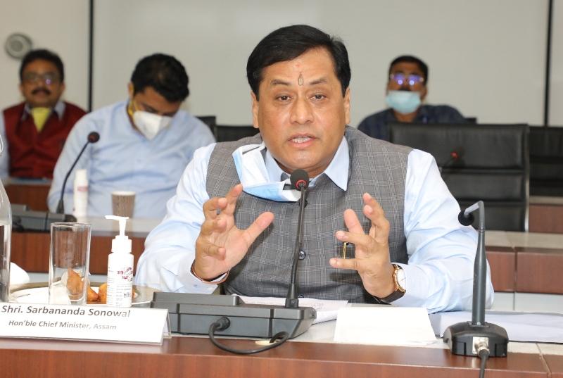 Sarbananda Sonowal speaks to Amit Shah regarding Assam-Mizoram border situation