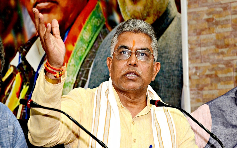 I am completely fit and fine, says BJP leader Dilip Ghosh after coming out of hospital