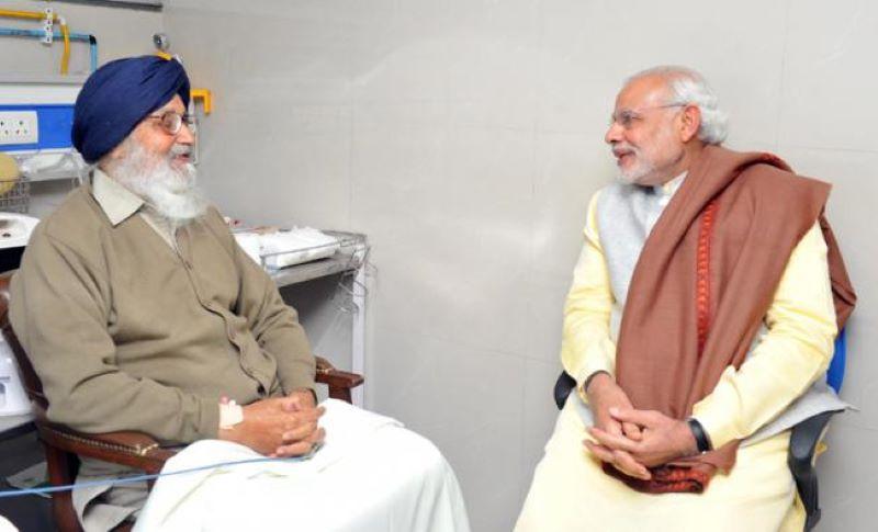 Parkash Singh Badal returns Padma Award protesting against Modi govt's 'betrayal of farmers'