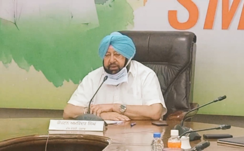 Punjab Chief Minister Amrinder Singh warns completion of Satluj-Yamuna Link Canal would transform into national security problem