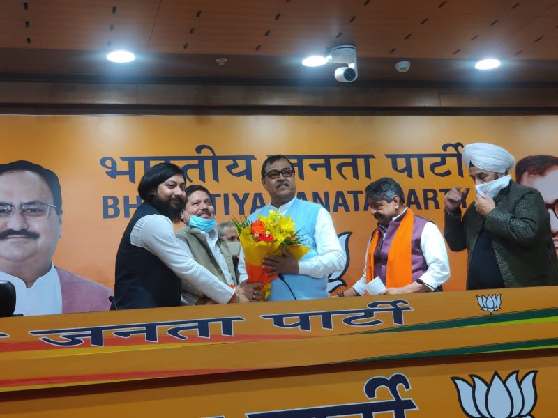 Jolt to Trinamool as Mihir Goswami joins BJP