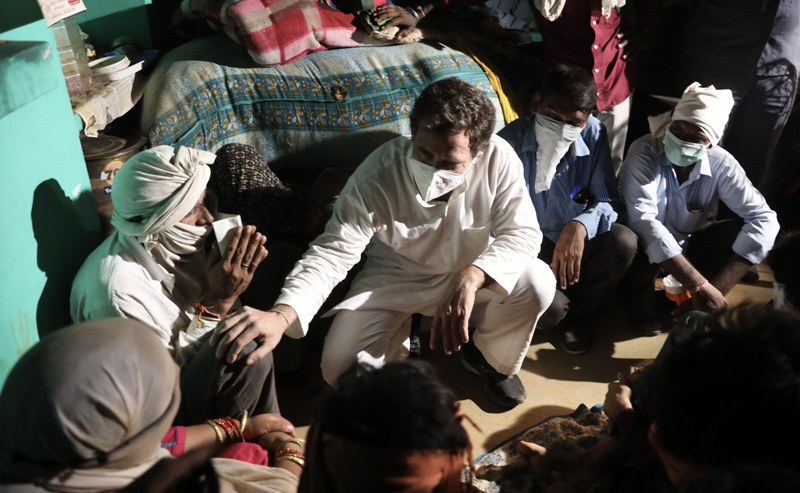 Unlike UP, Punjab not blocking justice in Hoshiarpur rape: Rahul's rebuttal on BJP's 'Gandhis don't care' jibe