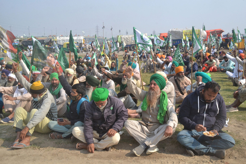 Farmers protest: No breakthrough reached, demonstration continue