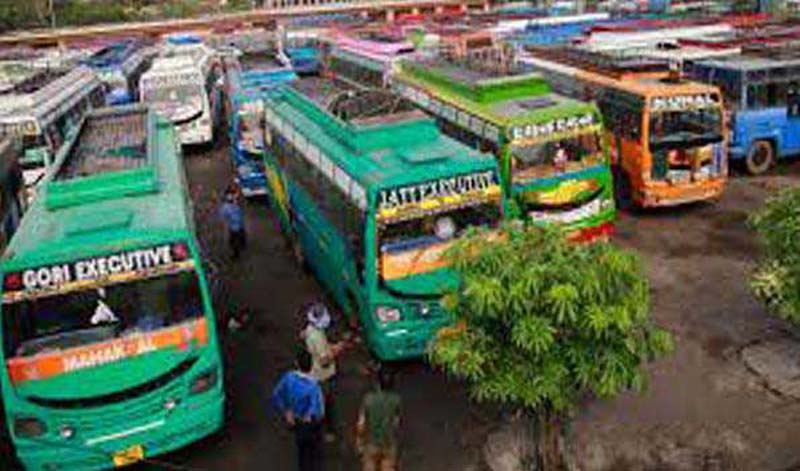 Bharat Bandh: Transport remains off road in Jammu protesting against farm laws