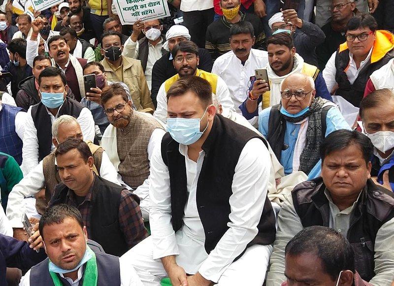 'Arrest me if you can': Tejashwi Yadav dares Nitish Kumar govt