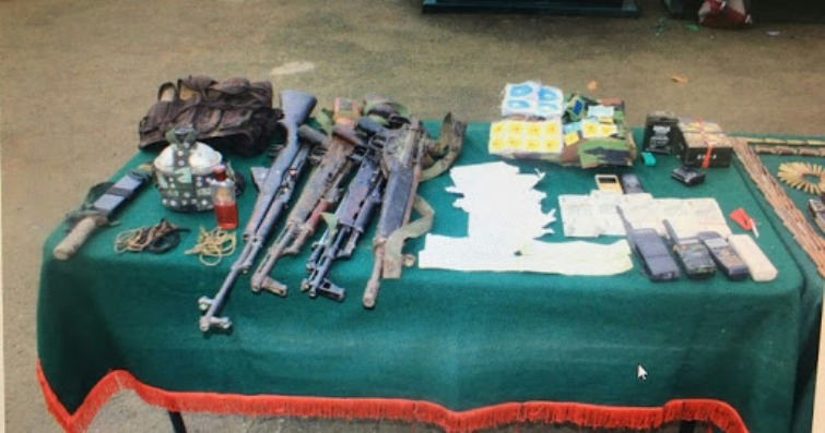 Army-police recover huge cache of arms-ammunition, explosives in Assam's Udalguri