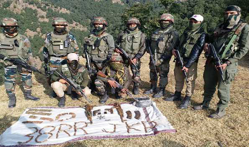 Kashmir: Hideout busted in Rajouri, Chinese pistols, explosive, other arms recovered