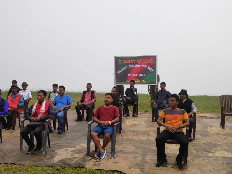 Assam Rifles organise security coordination meeting in Arunachal Pradesh's Khonsa