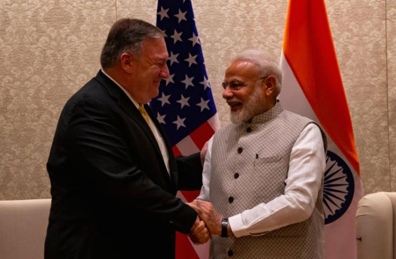 US sees India as global power: Mike Pompeo