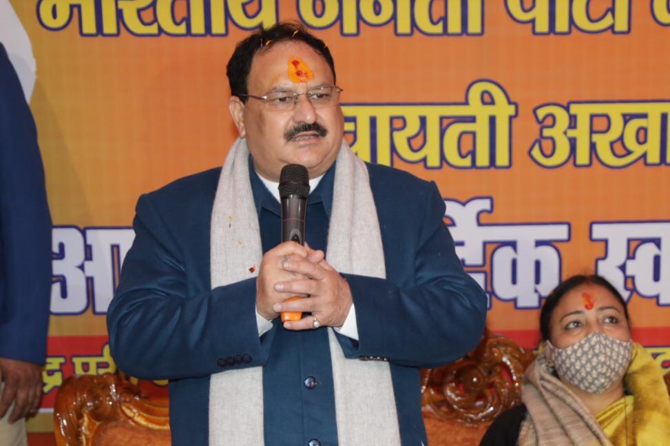 GHMC results show rejection of dynastic, corrupt politics: BJP president JP Nadda